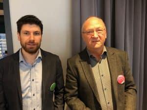 Andreas Johansson, Logiq og Livar Johansen, Optimera.