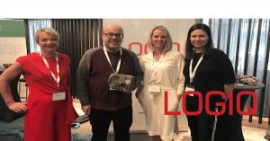 Med LOGIQ på DIFIs EHF-konferanse
