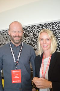 Stian Lunde Njøsen og Renate Rykkje Thoresen