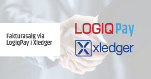 Fakturasalg via LogiqPay i Xledger
