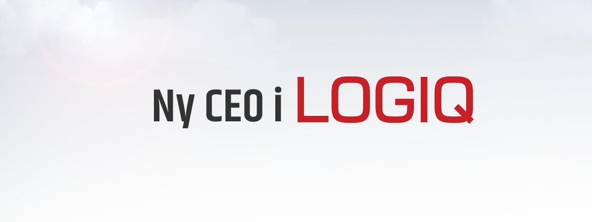 Pressemelding: Ny CEO i Logiq AS